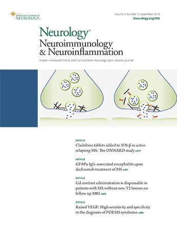 neurology neuroimmunology neuroinflammation